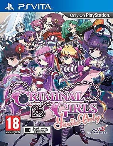 Criminal Girls: Invite Only (PlayStation Vita): Amazon co uk
