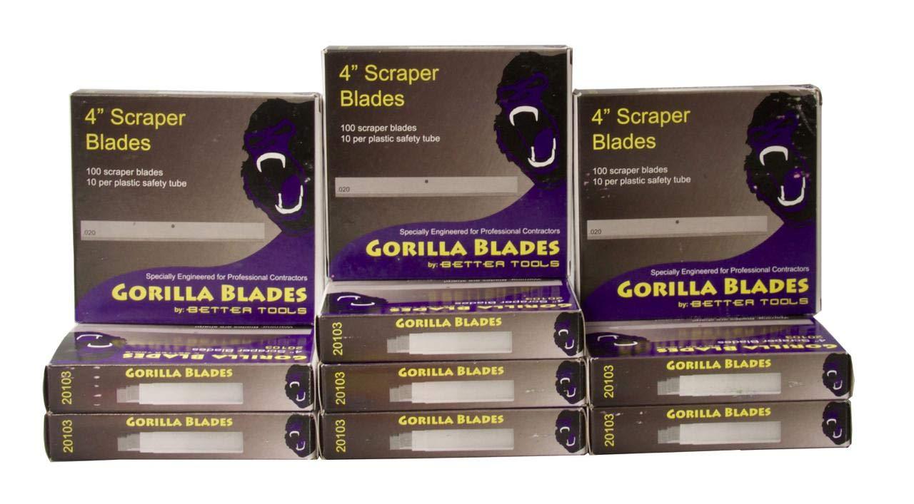 Better Tools - 4'' Scraper Blades (10)