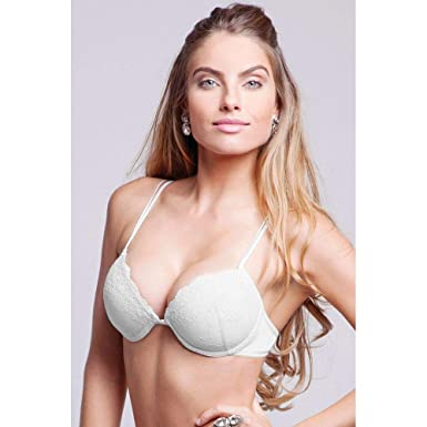 b357df1c0 Soutien Push Up Bojo Com Enchimento - Lace - 314.25 - Branco Soutien - Lace  -