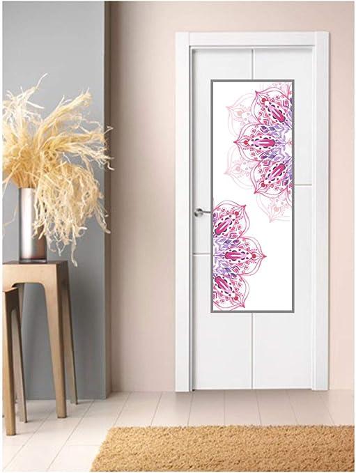 CustomGlass Cristal Decorado para Puertas de Interior Modelo Dombim, Incluye instalación en (Madrid): Amazon.es: Hogar