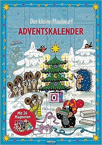 Weihnachtskalender Auf Rechnung.Magnet Adventskalender Der Kleine Maulwurf 24 Magnete Amazon De