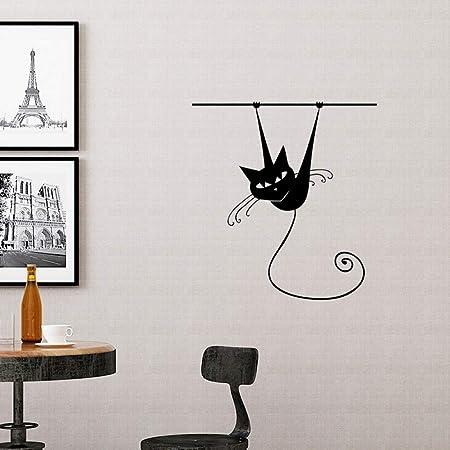 LETAMG Pegatinas de pared Escalada De Dibujos Animados ...