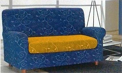 Divano Arancione E Marrone : Russo tessuti copridivano copri divano sofà cuscini tessier skipper