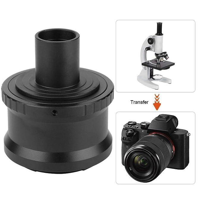 Adaptador de microscopio de cámara, microscopio T2-NEX 23.2mm ...