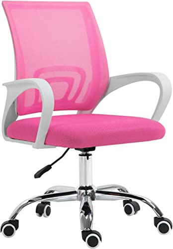 Best office desk chair: YAMASORO Ergonomic Home Office Chair Mesh Desk Chair Computer Chair