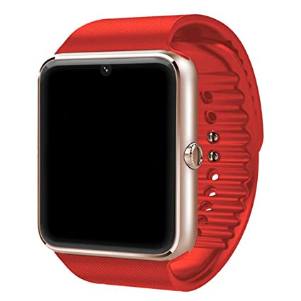 Amazon.com: GT08 Smart Watch Plus Metal Strap Wrist ...
