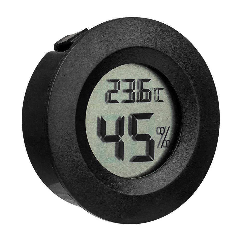 Voraca Mini-Thermometer/Luftfeuchtigkeitsmesser für den Außenbereich Schwarz