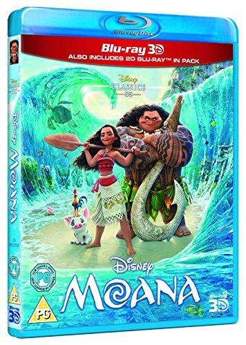 Moana  Blu Ray 3D