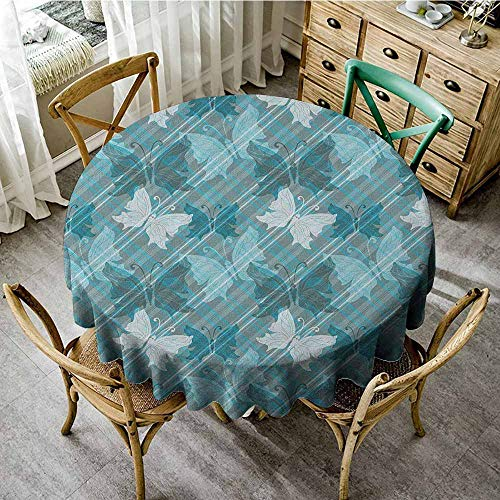 Rank-T Outdoor Round Tablecloth 43