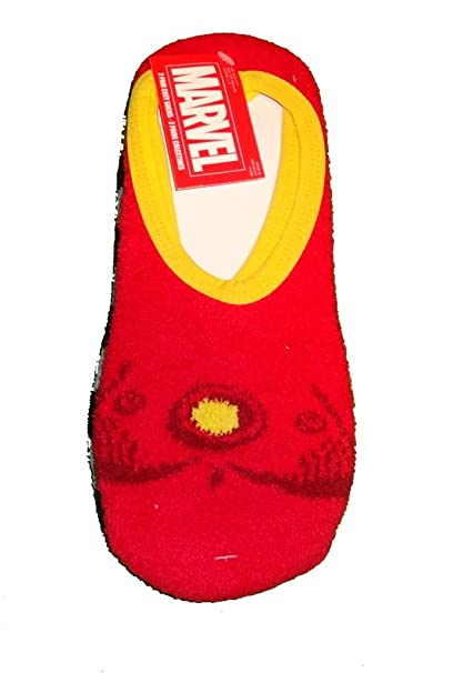 Marvel Iron Man Womens 2 Pair Cozy Slipper Socks (Size 9-11)