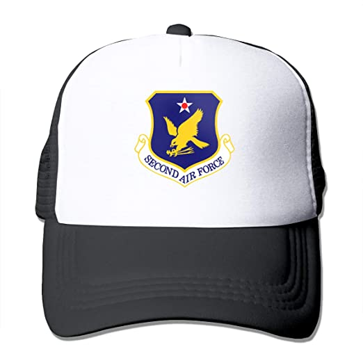 90d16bcf8 US Air Force Second Air Force Trucker Hat Snap Back Sun Mesh ...