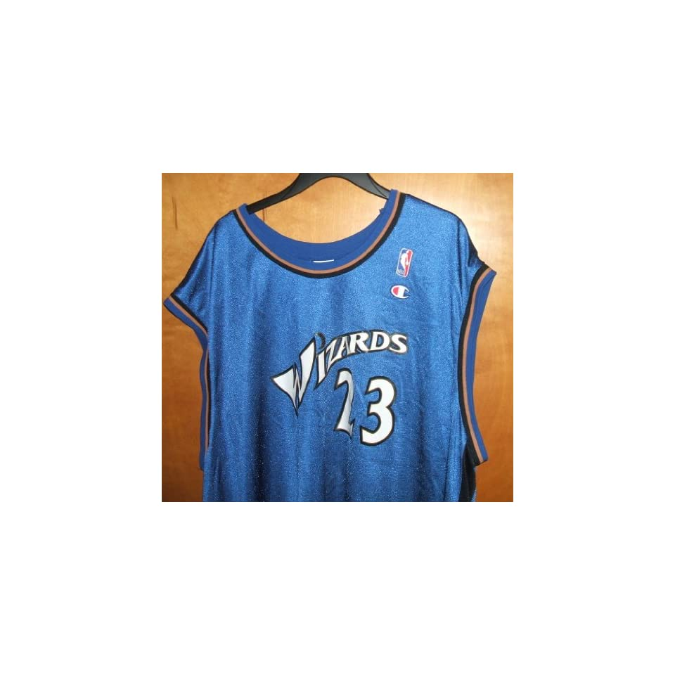 #23 Michael Jordan Washington Wizards NBA Jersey, XXL