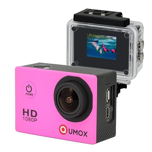 1006 opinioni per QUMOX SJ4000 fotocamera Azione Sport Cam Waterproof Full HD 1080p Video Helmet