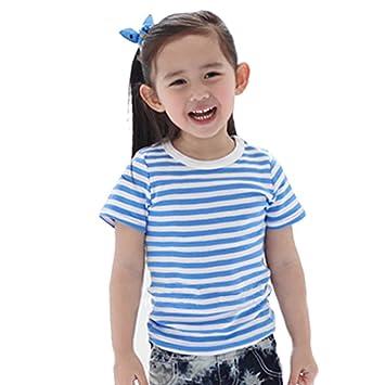 75c47d4eb5888 子供服 Tシャツ ボーダー Tシャツ 半袖 キッズ Tシャツ トップス 女の子 男の子 ガールズ ストライプ