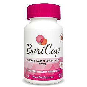 904ff505a Amazon.com  BoriCap Boric Acid Vaginal Suppositories