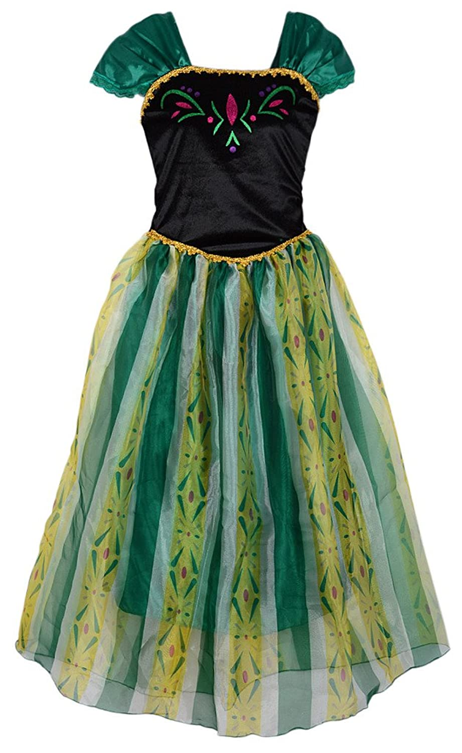 Eyekepper Women's Princess Anna Dress Cosply Costume Adult