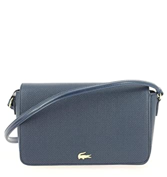 066d6e733d Sac Lacoste Chantaco Flap Crossover Bag Peacoat: Amazon.fr: Bagages