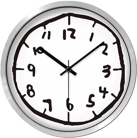 Dxnspf Horloge Murale Charmant Dessin Anime Simple Muet Chambre La