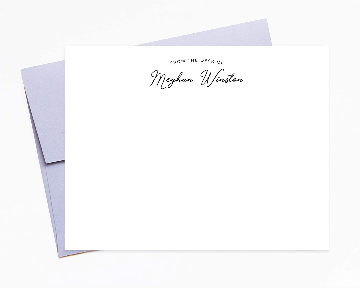 Notecard with Envelope Custom Note Cards Set of 12 Corporate Gifts Personalized Stationery Botanical Note Cards Thank You Cards