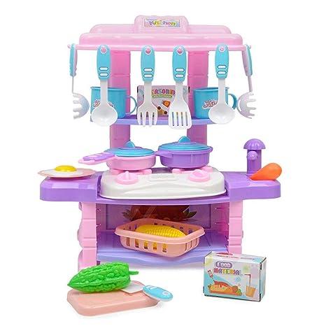 Conjunto de cocina de juego - Simulation para niña juego de cocina ...