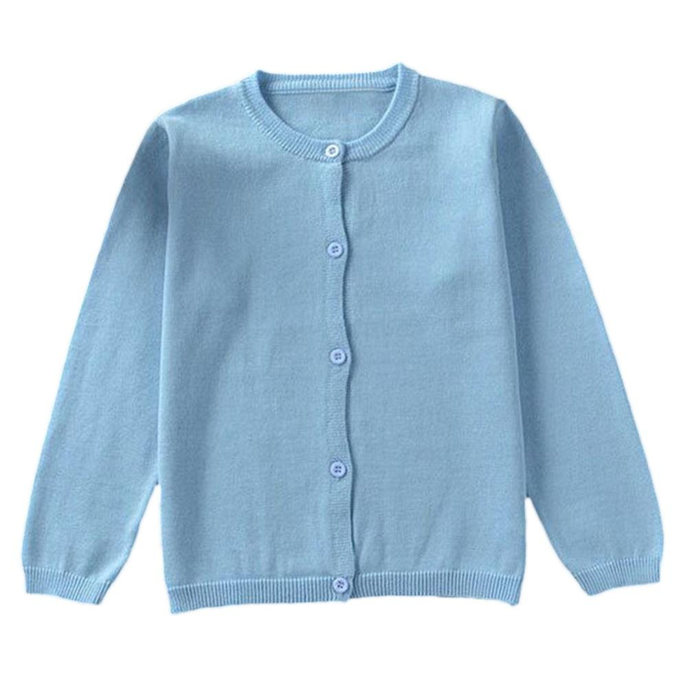 ephex Boys Girls Cotton Knit Sweater Childrens Cardigan Sweater for 2-5T