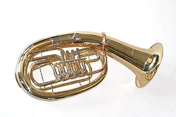 Musikinstrumente Bb Kaiserbariton Bariton Silber Euphonium Drehventile