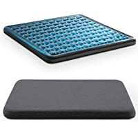 Yohota Zero-Gravity Seat Cushion - Air Pressure Gel & Suspended Substrate Meditation Cushion for Tailbone Pain - Office…