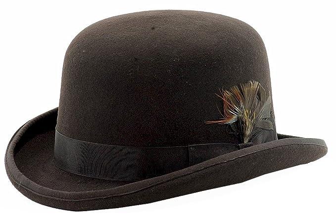 ff8b575bd72 Scala Classico Men s Wool Felt Derby Hat