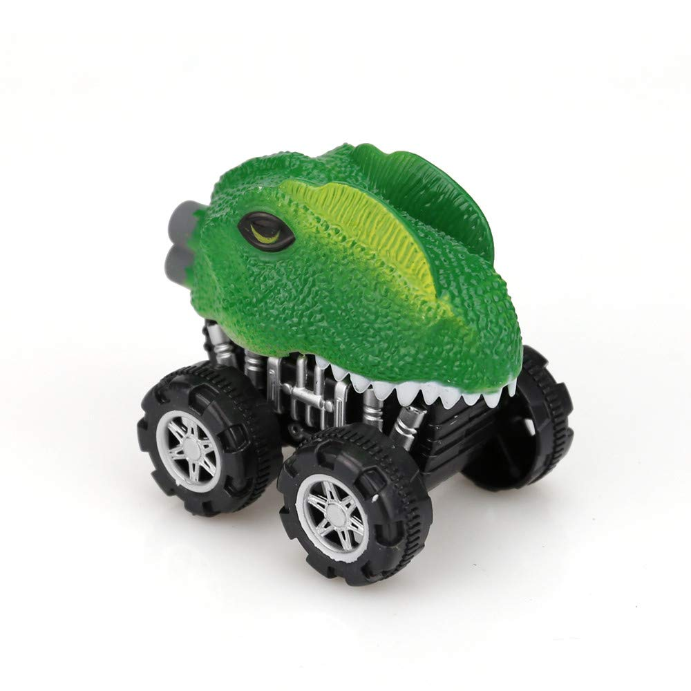 Gbell Kids Dinosaur Friction Powered Car Pull Back Dino Vehicle Mini Animal Car Toy for Toddler Boys Girls Kids 3 4 5 6 7 8 9 10 11 12 Yeal Old,6x5x6 cm