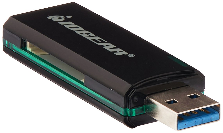 IOGEAR GFR304SD SuperSpeed USB 3.0 SD(TM) Card/microSD(TM) Card Reader/Writer electronic consumer