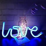Love Neon Sign for Wall Decor,USB or Battery Decor Light,Neon Light for Bedroom,Decorative LED Sign Neon Lights for Bar,Chris