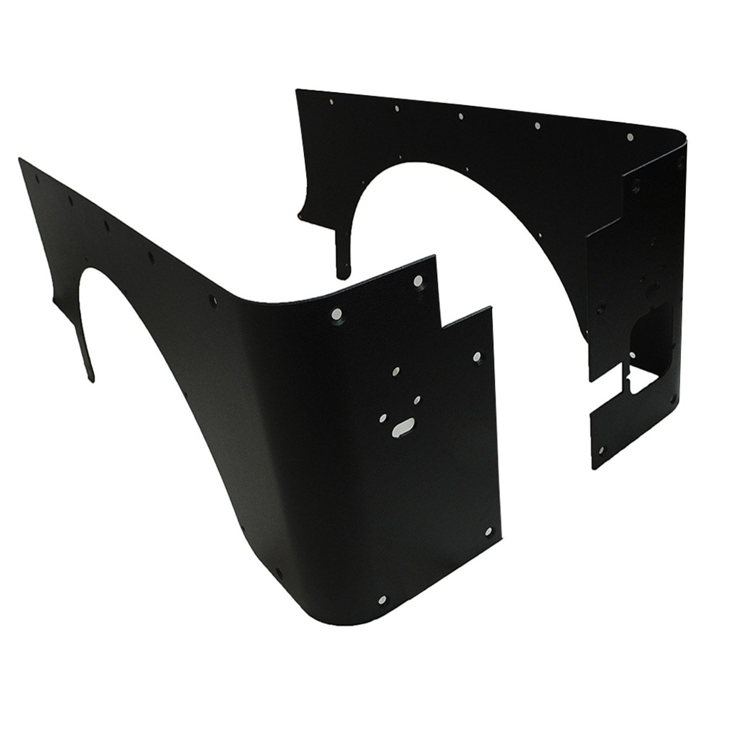 Paramount Restyling 51-0207 Black Corner Guard (Jeep Wrangler CJ)