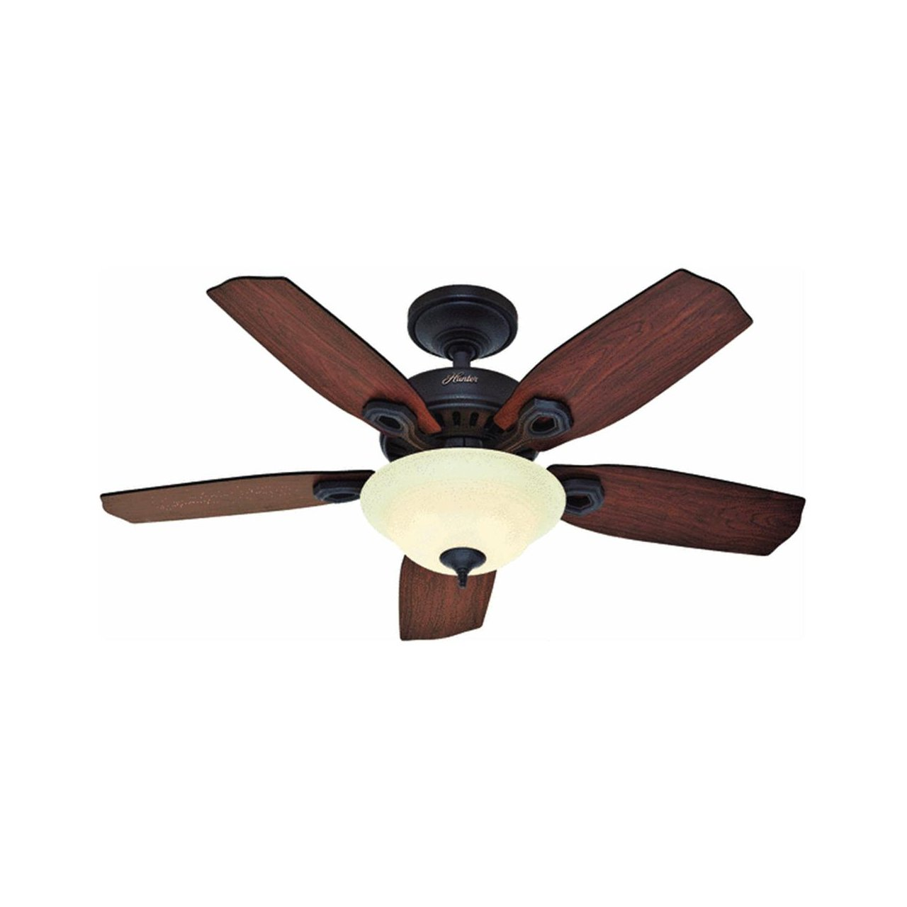 Hunter Fan Company 28698 Auberville Ii 44 Inch New Bronze With Light Kit Ca Tools Home Improvement