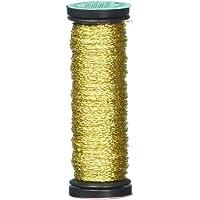 Kreinik Very Fine Metallic Braid #4 12yd-Japan Gold