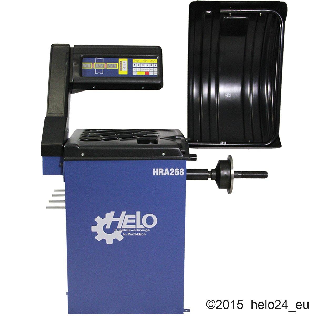 Máquina equilibradora de ruedas HRA 268 con software integrado: Amazon.es: Coche y moto