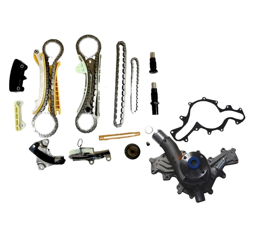Ford Mustang 40l Sohc Timing Chain Kit Water Pump Set 4 0 Engine Bottom Diagram Automotive
