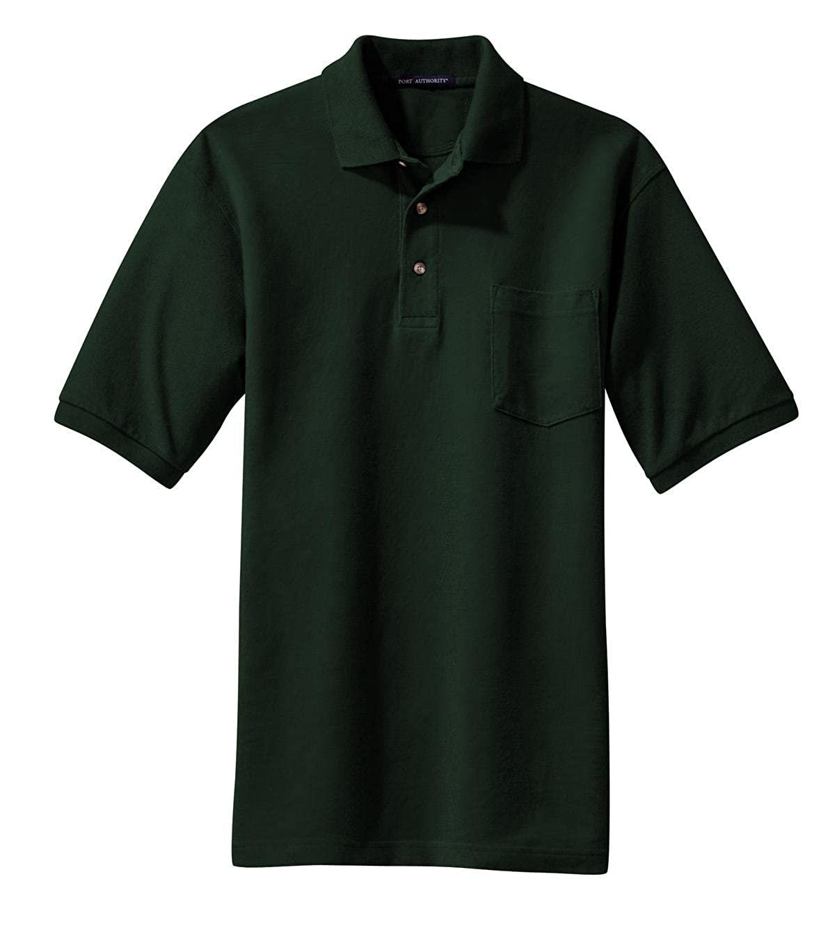 Port Authority Pique Knit Polo with Pocket