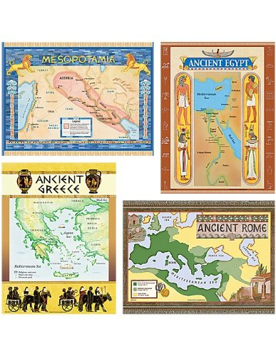 (Teacher Created Resources Ancient Civilizations Bulletin Board Display Set (4422))