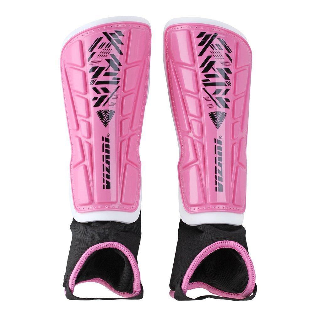 Vizari Malaga Shin Guard, Pink/Black, XX-Small