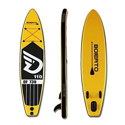 Amazon.com : DAMA Inflatable Racing Stand Up Paddleboard 11 ...