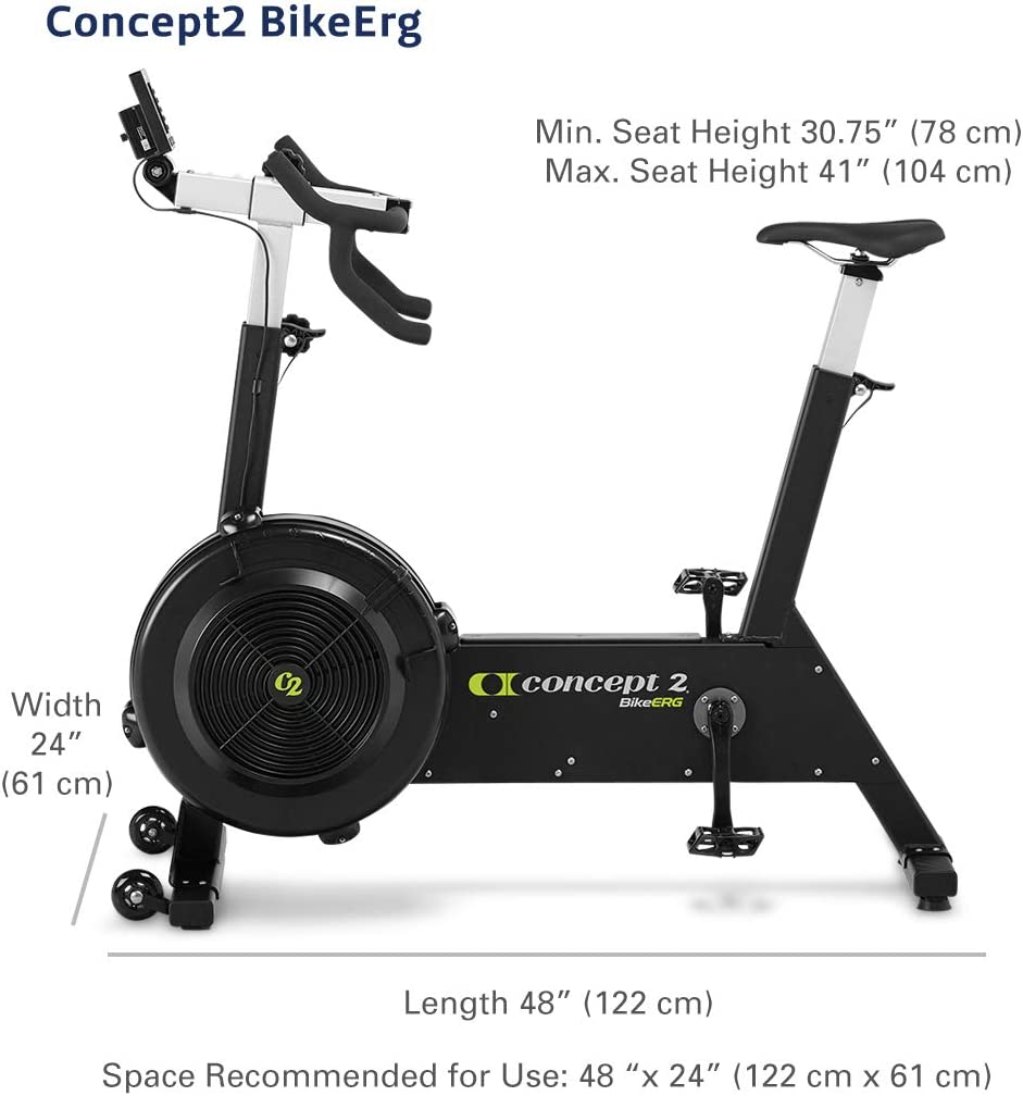 Vapor Fitness SkiErg y BikeErg Fabricado para m/áquina de Remo Concept 2 Soporte para Smartphone