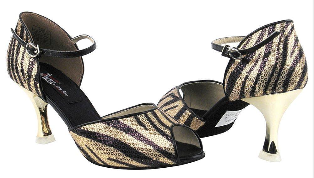 [Very Fine Shoes] レディース B00DLN8DSY Gold Zebra 8-3\