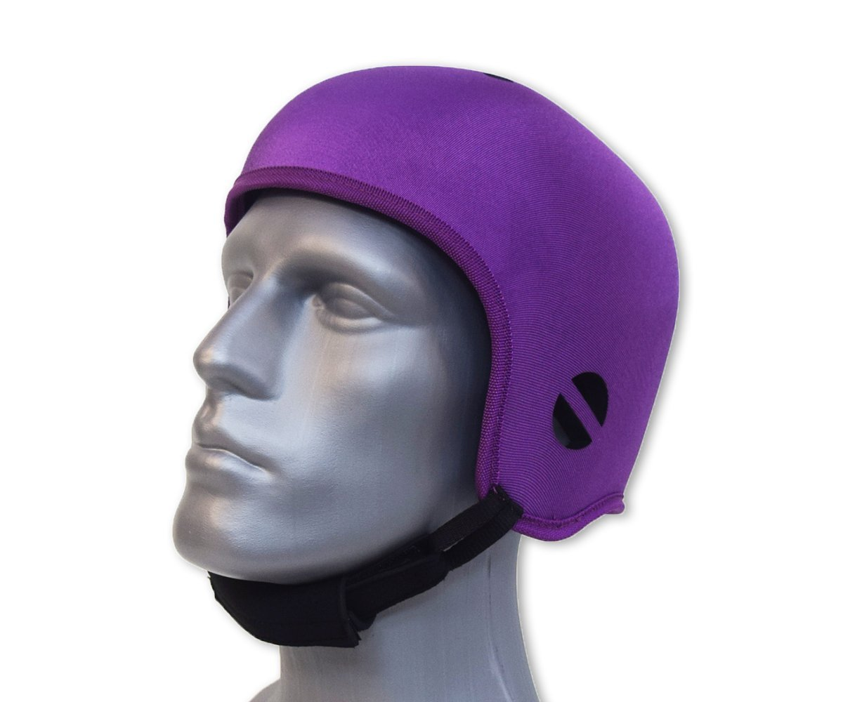 Opti-Cool Headgear© Soft Protective Helmet (Small 20.5-21.75 inches, Purple) by Opti-Cool Headgear