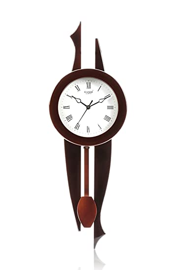 Buy Kaiser Wooden Wall Clock With Pendulum 525x190x80 mm Cola