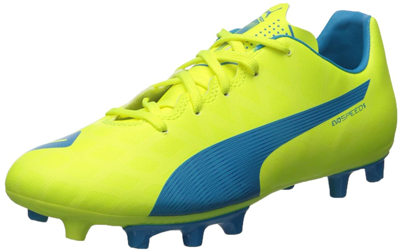 Puma Evospeed 5.4 FG Jr Sneaker (Little Kid Big Kid)