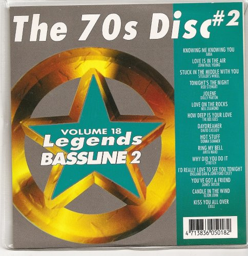 LEGENDS Bassline Vol.18 Karaoke CDG The 70's Disk Vol.2 OLDIES and DISCO (The Best Of Bee Gees Vol 2)