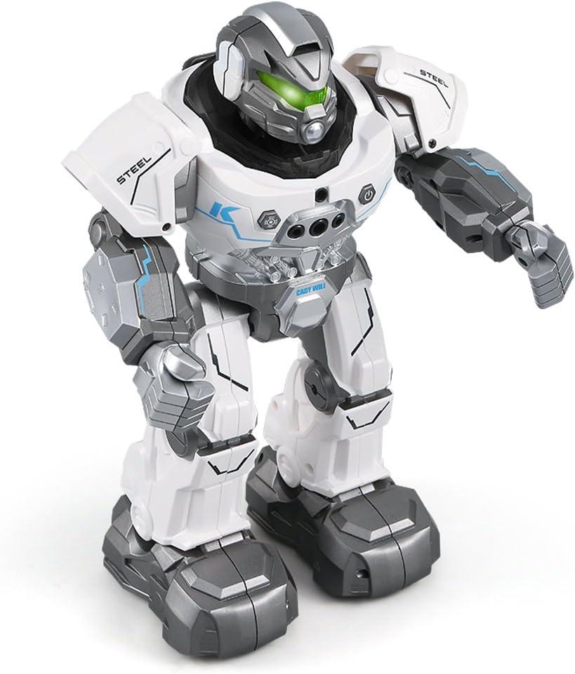 Amazon.es: Goolsky JJRC R5 Cady Wiki Inteligente Robot de Control Remoto Programable Auto Seguir Gesture Sensor Música Danza de Juguete de Regalo para Niños
