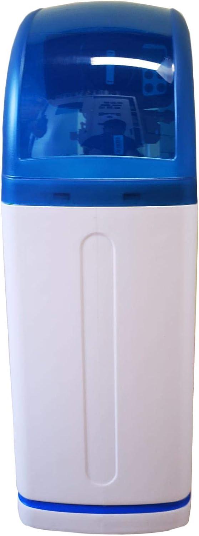 WK Small Octopus-Descalcificador de agua doméstica, apto para 3-4 personas, Color blanco