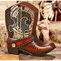 Deco Breeze DBF0122 Figurine Cowboy Boot Fan