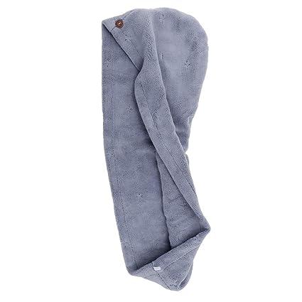 IPOTCH 1 und Toallas de Baño sombrero Capa Belleza Maquillaje Belleza SPA - Azul, 65